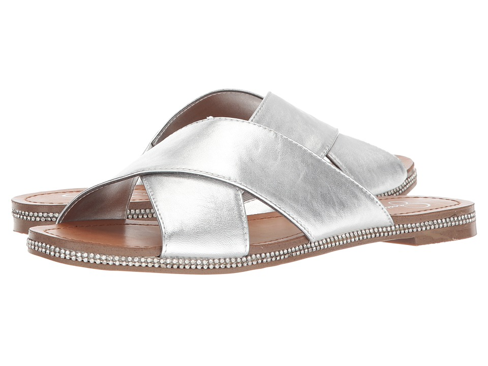 Jessica Simpson - Brinella (Platinum Metallic Italia Nappa) Womens Shoes