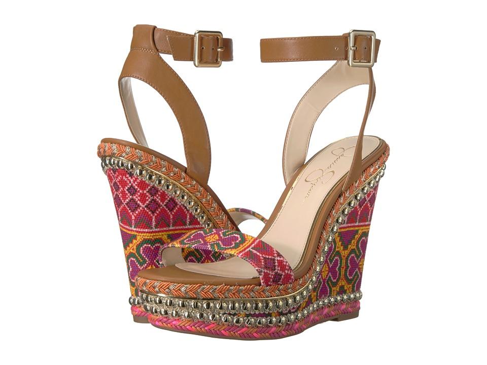 Jessica Simpson - Alinda (Red Multi Fiesta) Womens Shoes