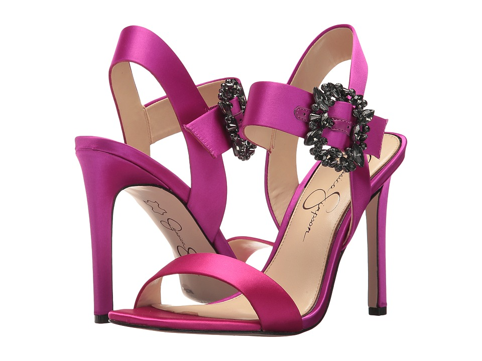 Jessica Simpson Bindy (Passion Pink Crystal Satin) Women