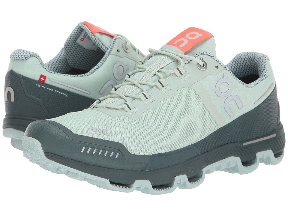 On Cloudventure Waterproof (Mineral/Olive) Women's Shoes