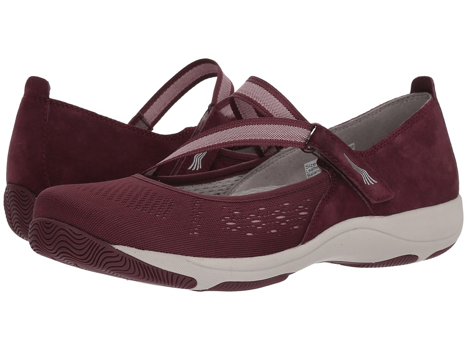 Dansko Haven (Wine Suede) Women's Shoes