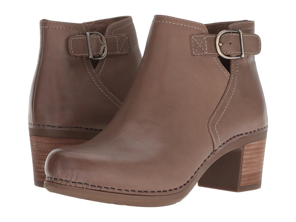 Dansko Henley (Taupe Burnished Calf) Women's Shoes