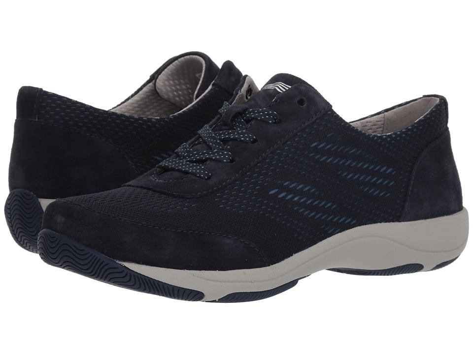 Dansko Hayes (Navy Suede) Women's Shoes