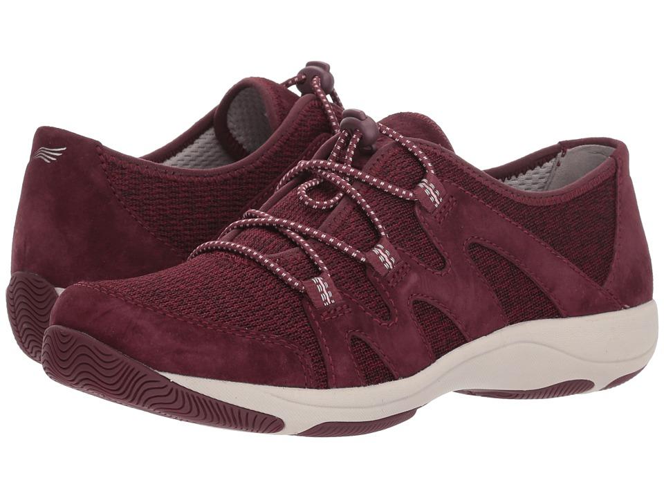Dansko Holland (Wine Suede) Women's Shoes