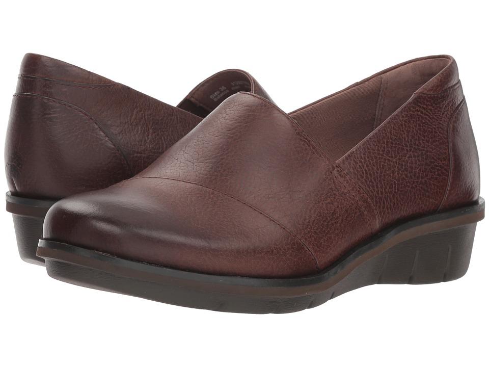 Dansko Julia (Brown Burnished Nubuck) Women's Shoes