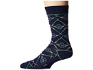 Cufflinks Inc. Yoda Navy Lightsaber Socks
