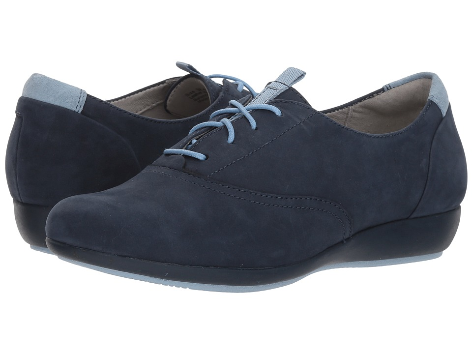 Dansko Kimi (Navy Milled Nubuck) Women's Shoes