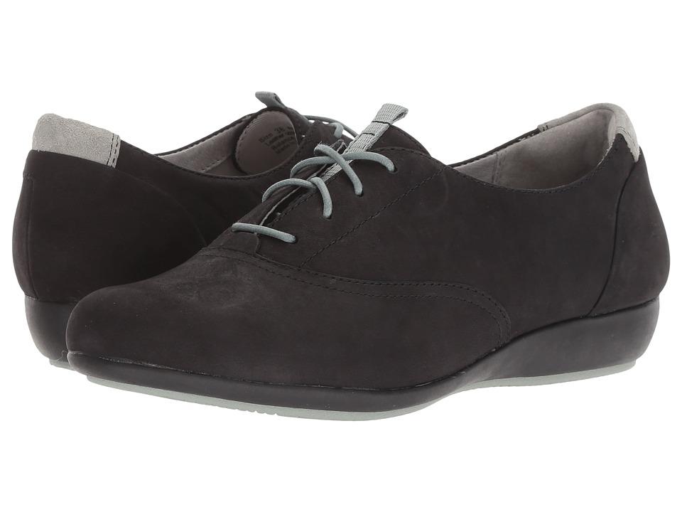 Dansko Kimi (Black Milled Nubuck) Women's Shoes