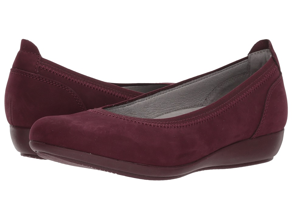 Dansko Kristen (Wine Milled Nubuck) Women's Shoes