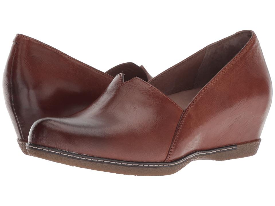 Dansko Liliana (Chestnut Burnished) Women's Shoes