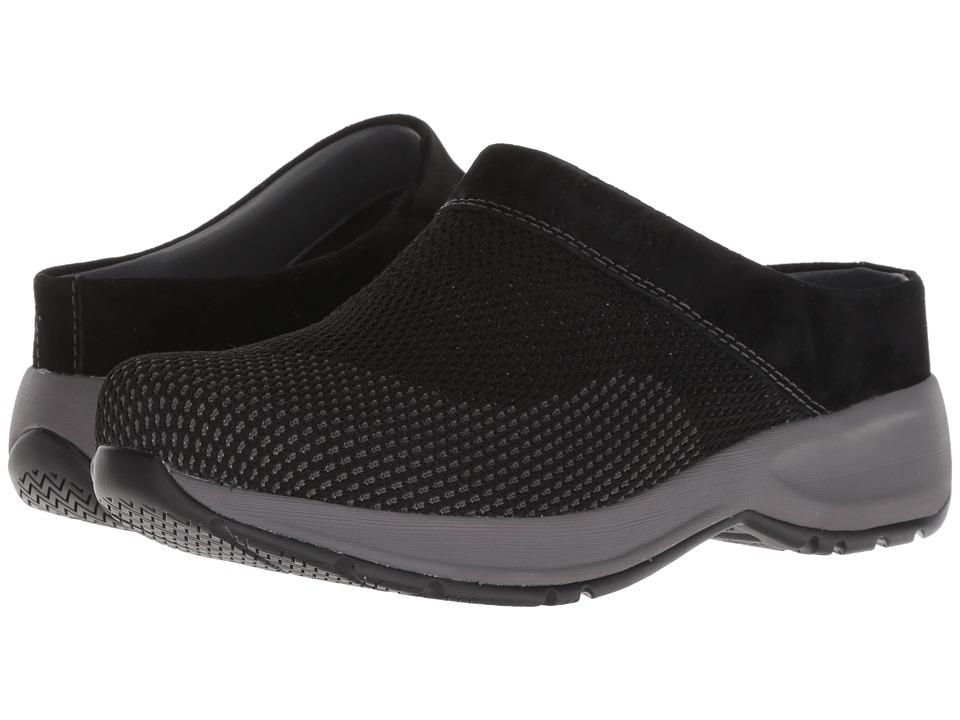 Dansko Sondra (Black Suede) Women's Shoes
