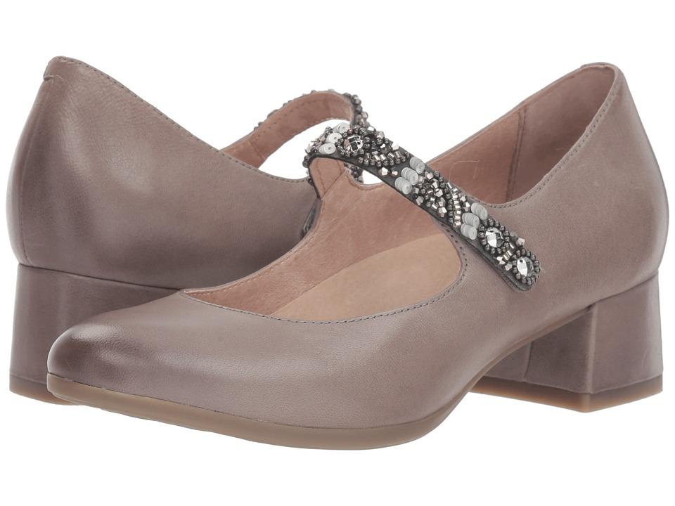 Dansko Pearlina (Stone Burnished Nubuck) Women's Shoes
