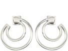 Vince Camuto Polished Curved Hoop Earrings
