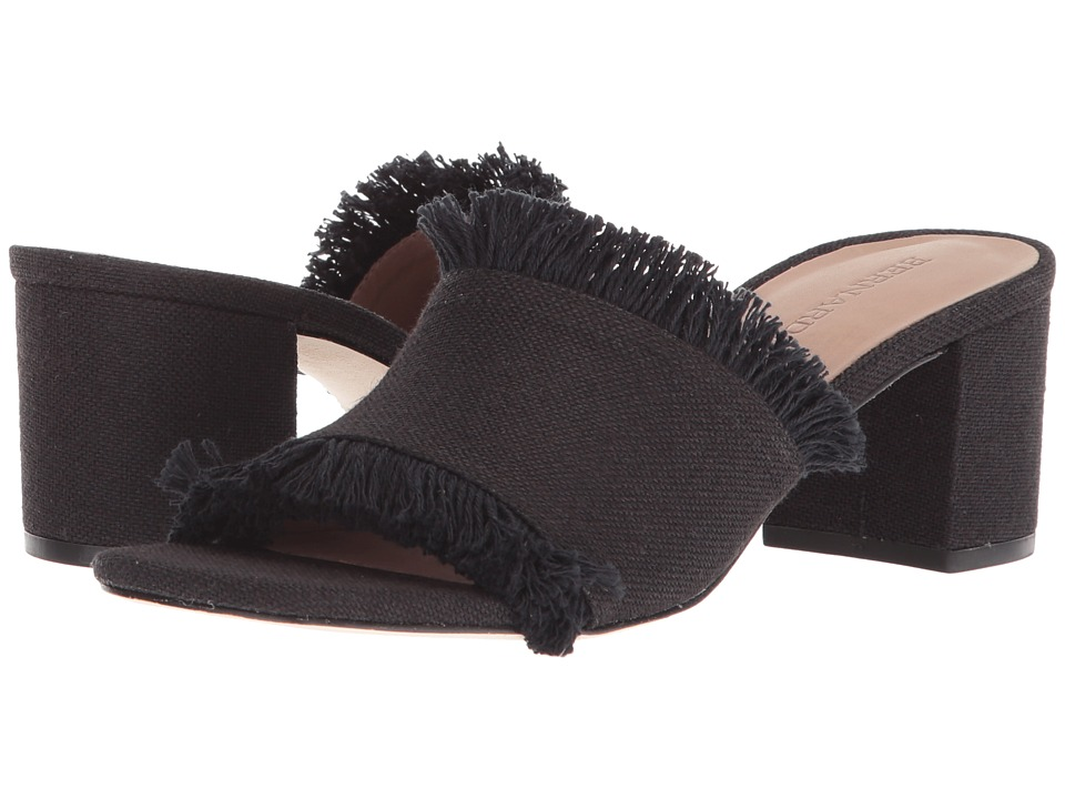 Bernardo - Blaire (Black Linen) Womens Sandals