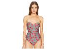 Moschino Cherry Print Swimsuit