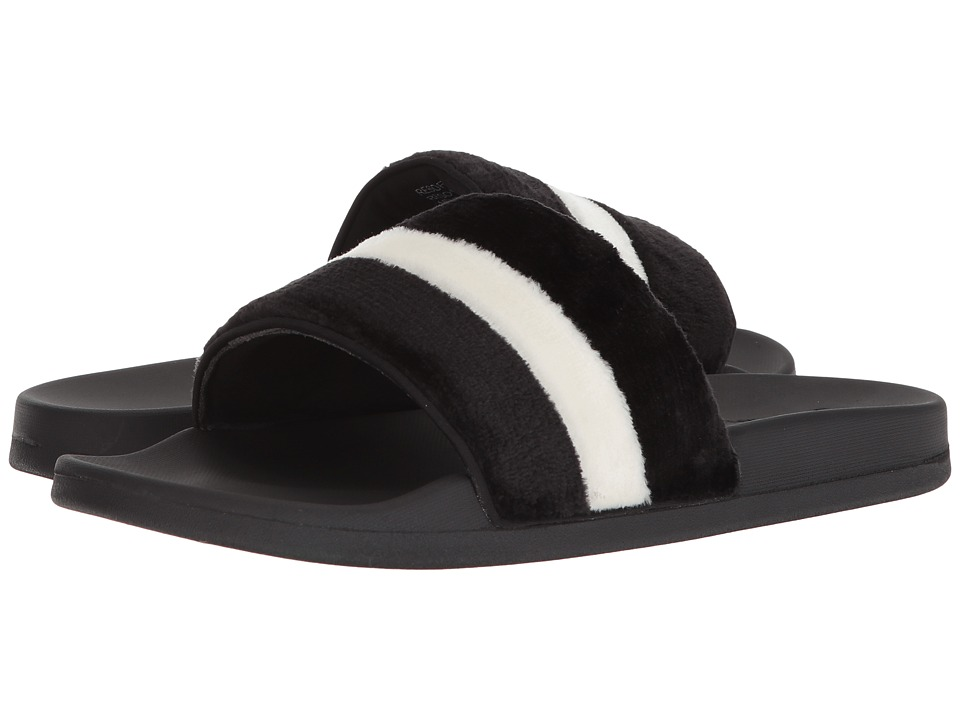 Steve Madden - Resort (Black/White) Men's Sandals