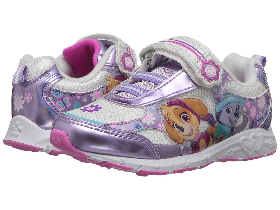 Josmo Kids Paw Patrol Lighted Sneaker (Toddler/Little Kid) (Purple/Pink) Girl's Shoes