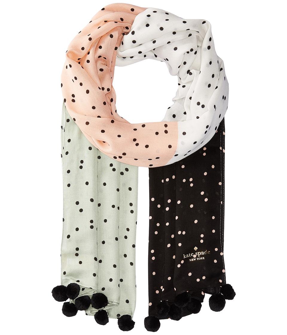 Kate Spade New York - Scatter Oblong (Black) Scarves