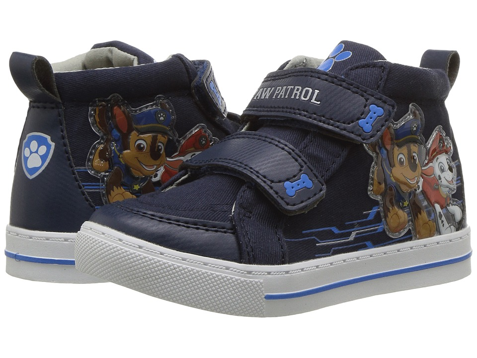 Josmo Kids Paw Patrol High Top Sneaker (Toddler/Little Kid) (Navy 1) Boy's Shoes