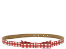 Kate Spade New York 5/8 Gingham Printed Classic Bow Belt