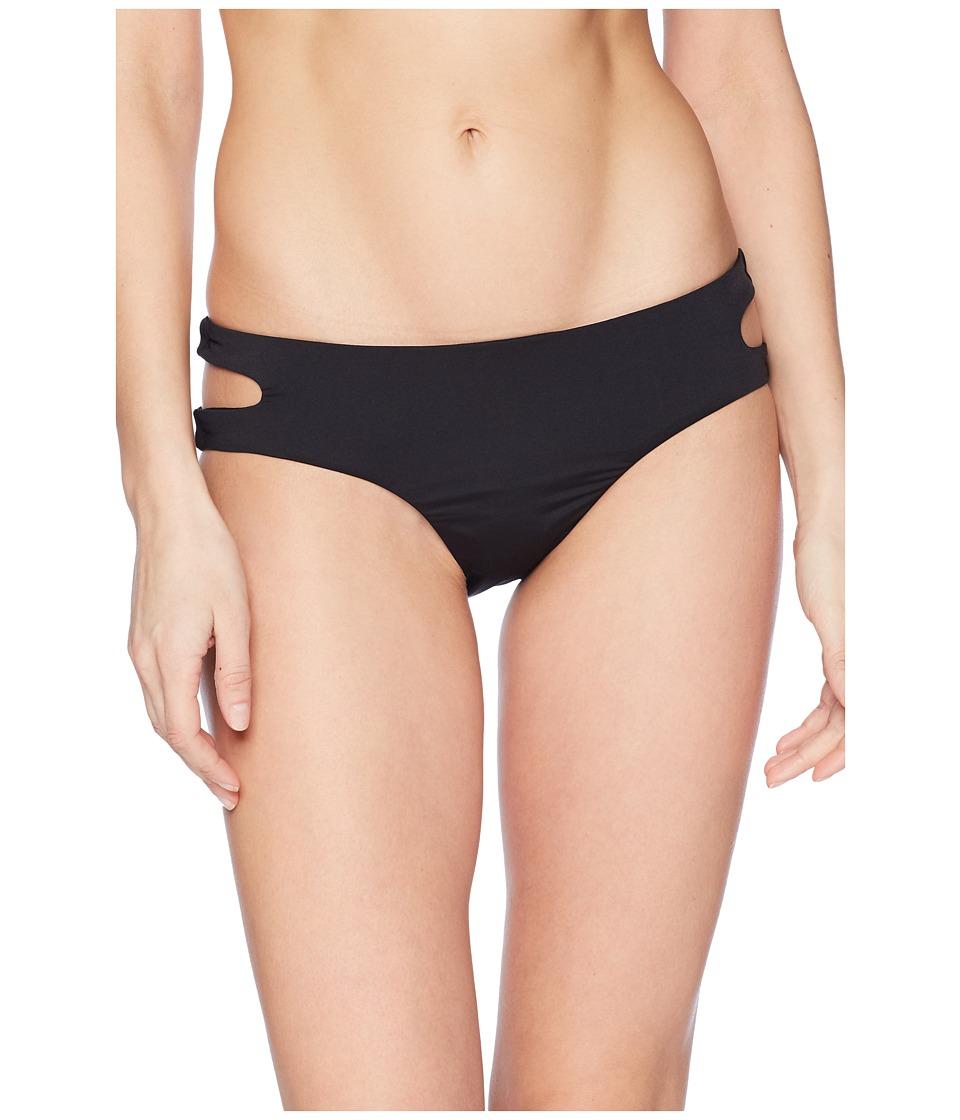 THE BIKINI LAB Solid Cutout Hipster Bikini Bottom BL8R597-001
