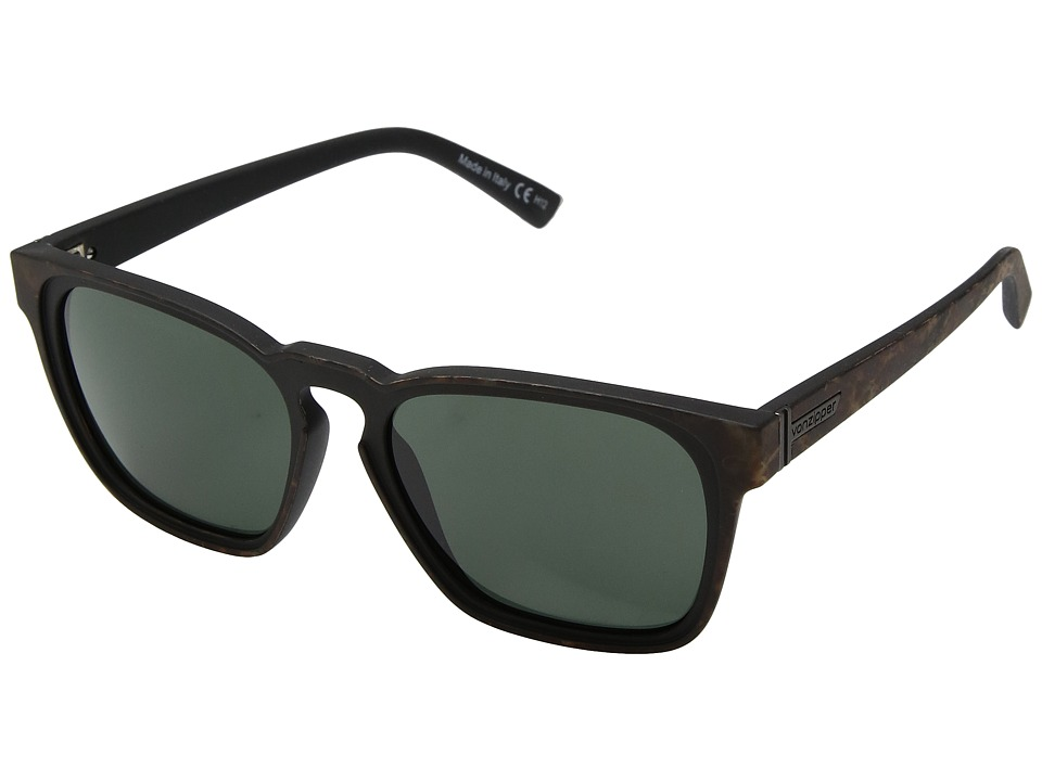 VonZipper Levee (Mahogany Tort/Vintage Grey) Sport Sunglasses