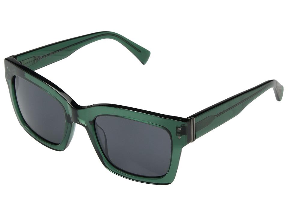 VonZipper Roscoe (Emerald/Grey Gradient) Fashion Sunglasses