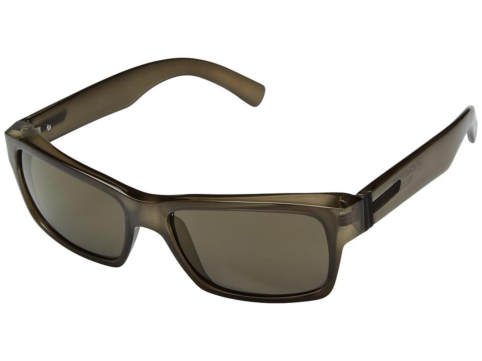 VonZipper Fulton (Bourbon/Copper Chrome) Plastic Frame Sport Sunglasses