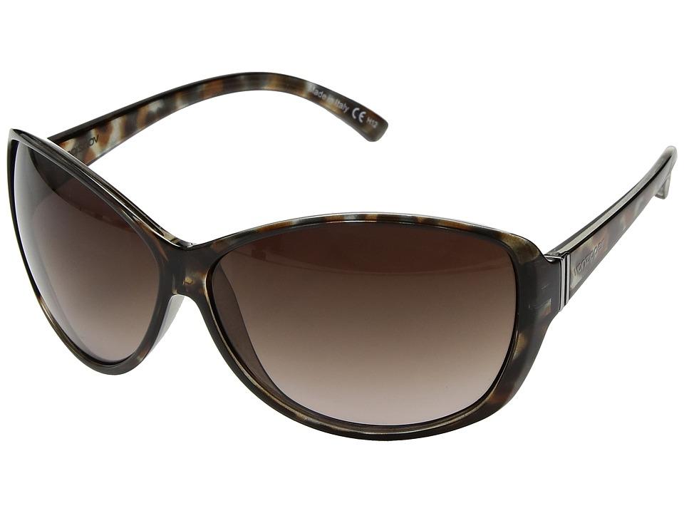 VonZipper Vacay (Quartz Tort/Brown Gradient) Sport Sunglasses