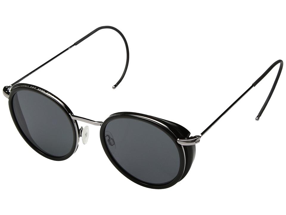 VonZipper Empire (Black Gloss/Grey) Athletic Performance Sport Sunglasses