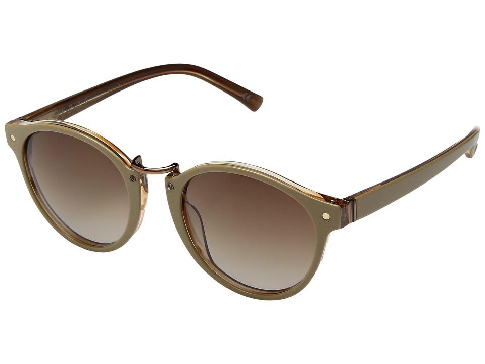 VonZipper Stax (Nude Tortoise/Brown Gradient) Athletic Performance Sport Sunglasses