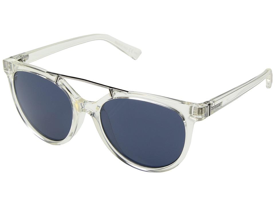 VonZipper Hitsville (Crystal/Navy) Athletic Performance Sport Sunglasses