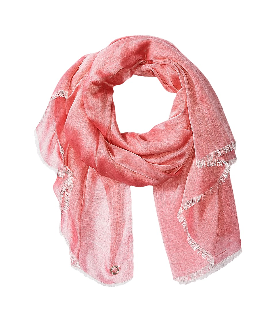Calvin Klein - Chambray Scarf (Watermelon) Scarves