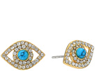 Rebecca Minkoff Evil Eye Stud Earrings