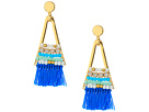 Rebecca Minkoff Geo Tassel Chandeliers with Beading