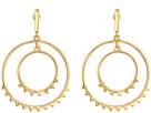 Rebecca Minkoff Ellie Double Circle Drop Earrings