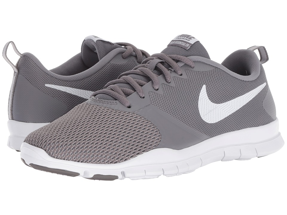 Nike Flex Essential TR (Gunsmoke/White/Atmosphere Grey) Women's Cross Training Shoes