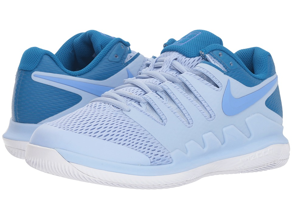 Nike Air Zoom Vapor X (Royal Tint/Monarch Purple/White) Women's Tennis Shoes