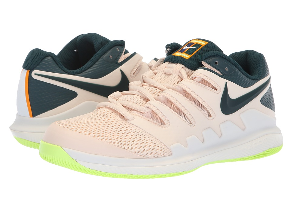 Nike Air Zoom Vapor X (Guava Ice/Midnight Spruce/Orange Peel) Women's Tennis Shoes