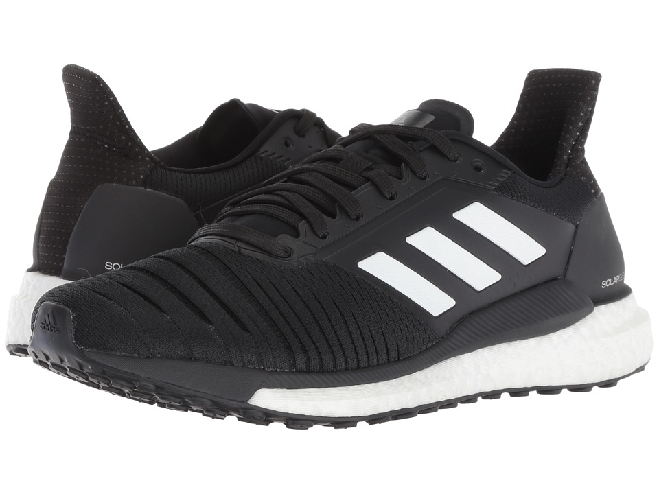 adidas Running Solar Glide (Black/White/Black) Women's Shoes