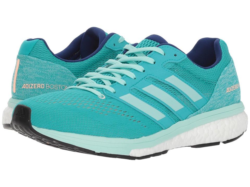 adidas Running adiZero Boston 7 (Hi-Res Aqua/Clear Mint/Mystery Ink) Women's Shoes
