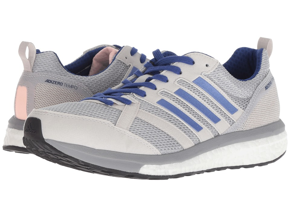 adidas Running adiZero Tempo 9 (Grey Two/Real Lilac/Mystery Ink) Women's Running Shoes