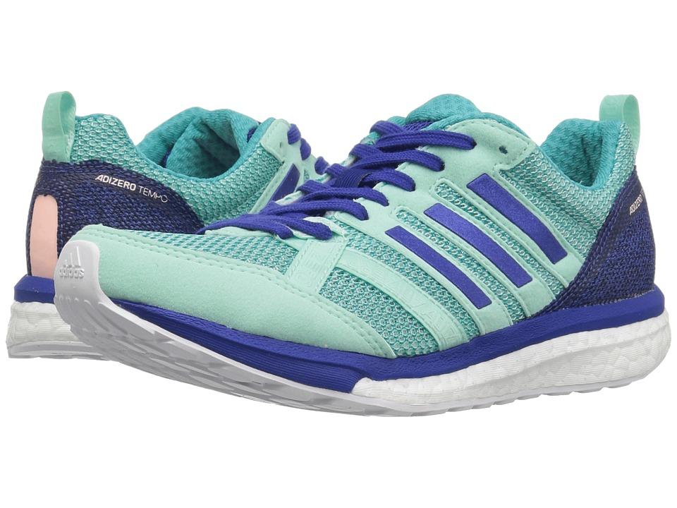 adidas Running adiZero Tempo 9 (Clear Mint/Mystery Ink/Hi-Res Aqua) Women's Running Shoes
