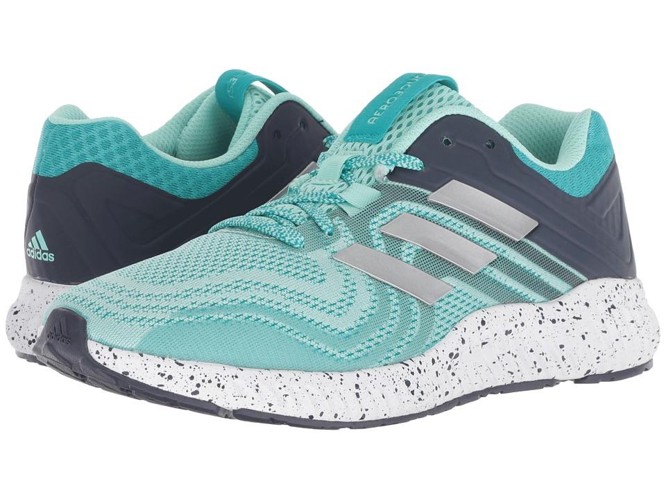 adidas Running Aerobounce ST (Hi-Res Aqua/Silver Metallic/Clear Mint) Women's Shoes