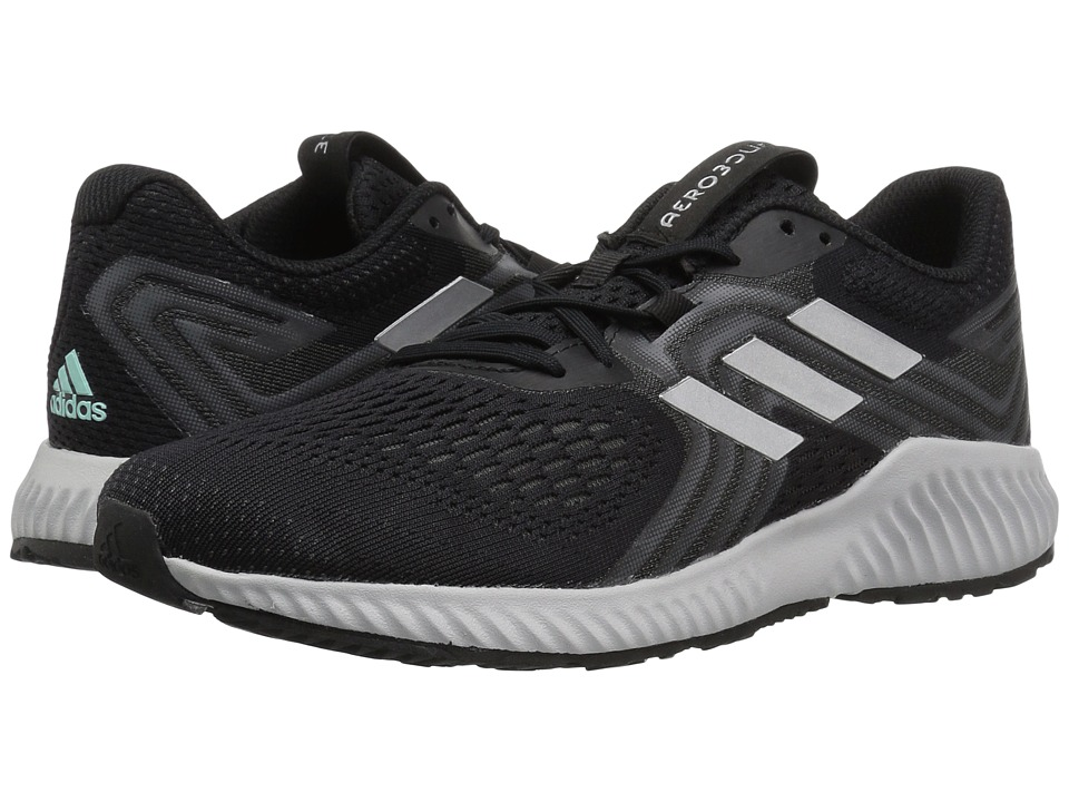 adidas Running Aerobounce (Black/Silver Metallic/Grey Five) Women's Running Shoes