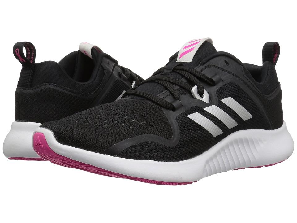 adidas Running Edgebounce (Black/White/Shock Pink) Women's Shoes
