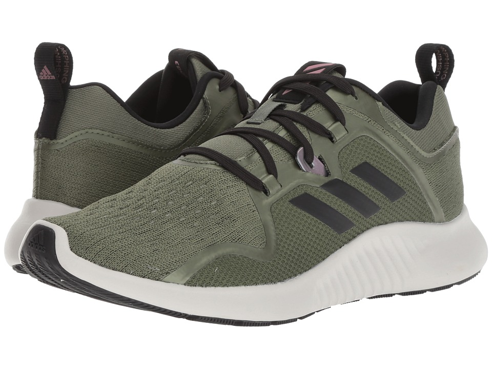 adidas Running Edgebounce (Base Green/Black/Trace Maroon) Women's Shoes