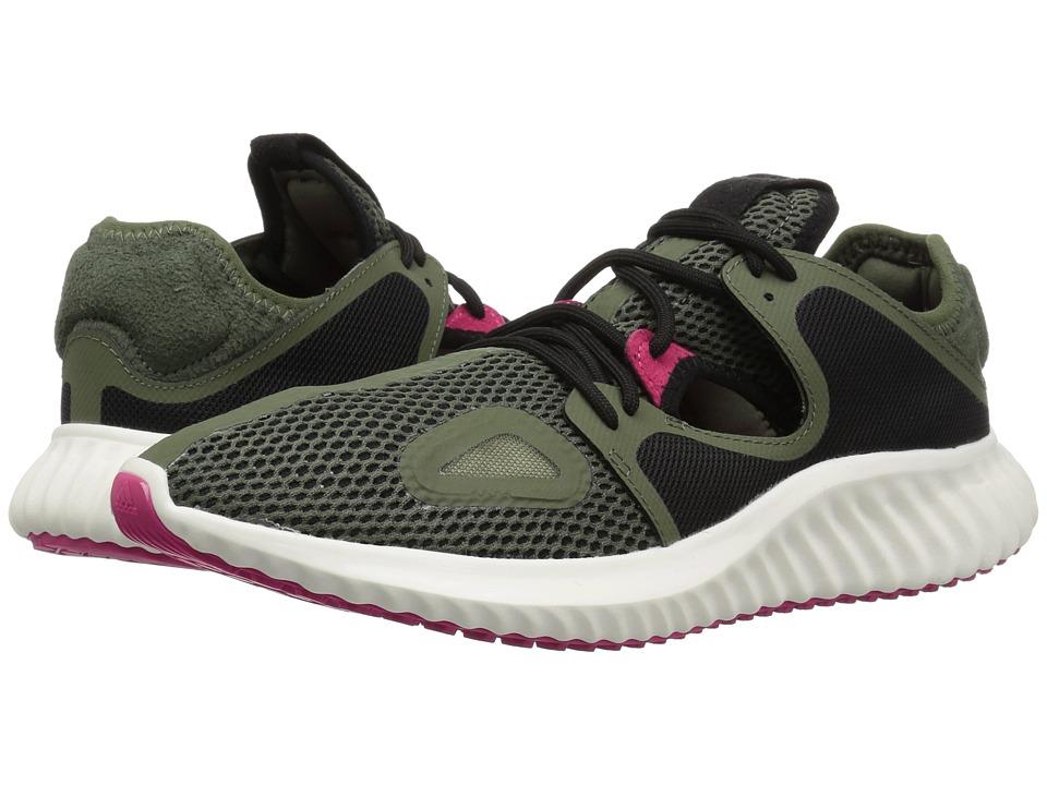 adidas Running Run Lux Clima (Base Green/Black/Real Magenta) Women's Running Shoes