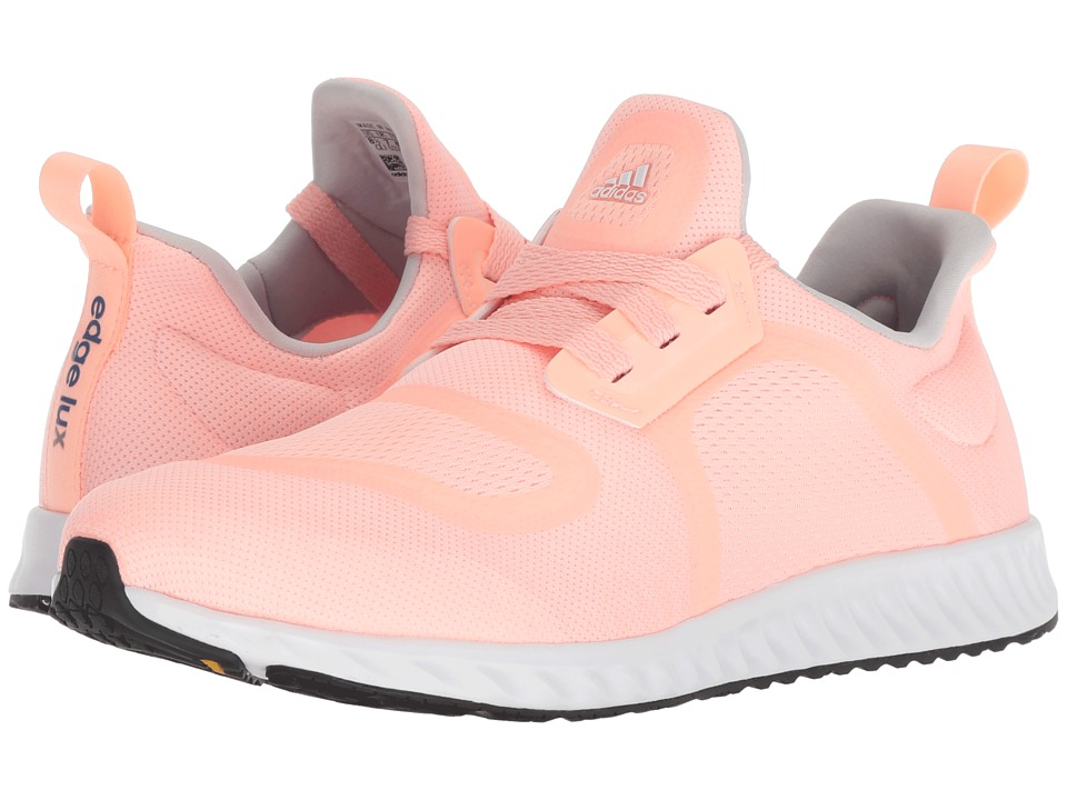 adidas Running Edge Lux Clima (Clear Orange/White/Trace Royal) Women's Running Shoes