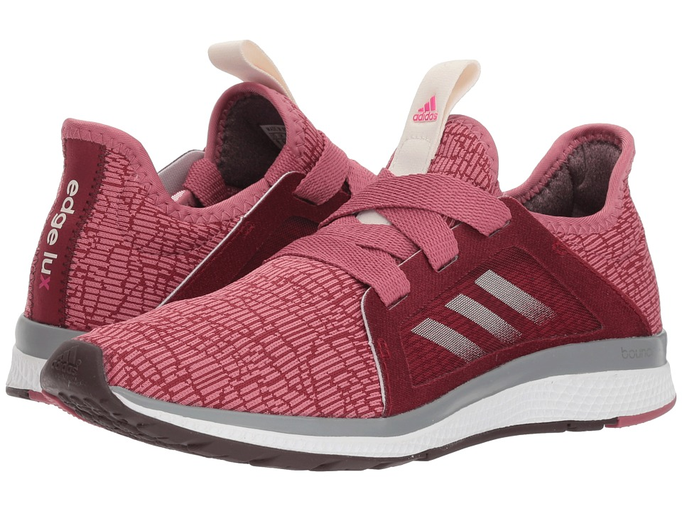 adidas Running Edge Lux (Noble Maroon/Night Red/Shock Pink) Women's Running Shoes